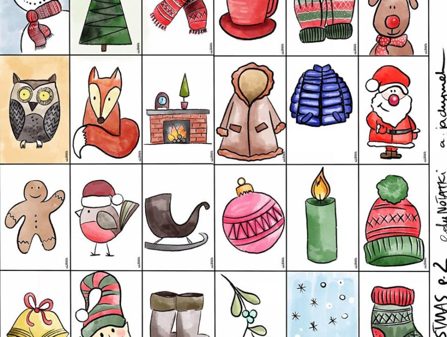 Christmas flashcards COLOUR