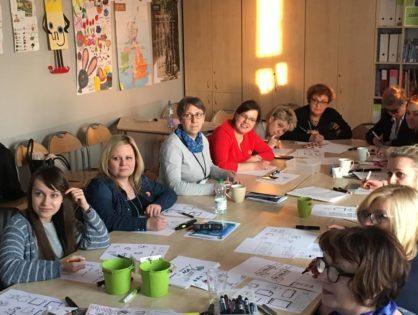 Rada szkoleniowa w SP 20 w Lublinie
