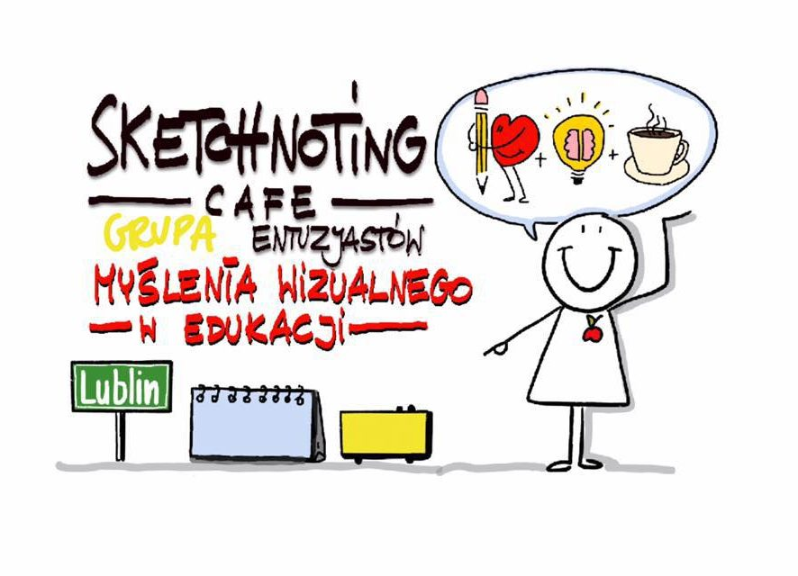 I Sketchnoting Cafe Lublin!