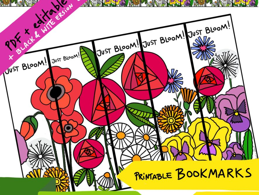 Bookmarks FLOWERS #2