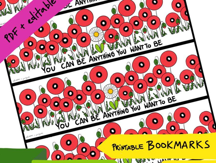 Bookmark FLOWERS #3