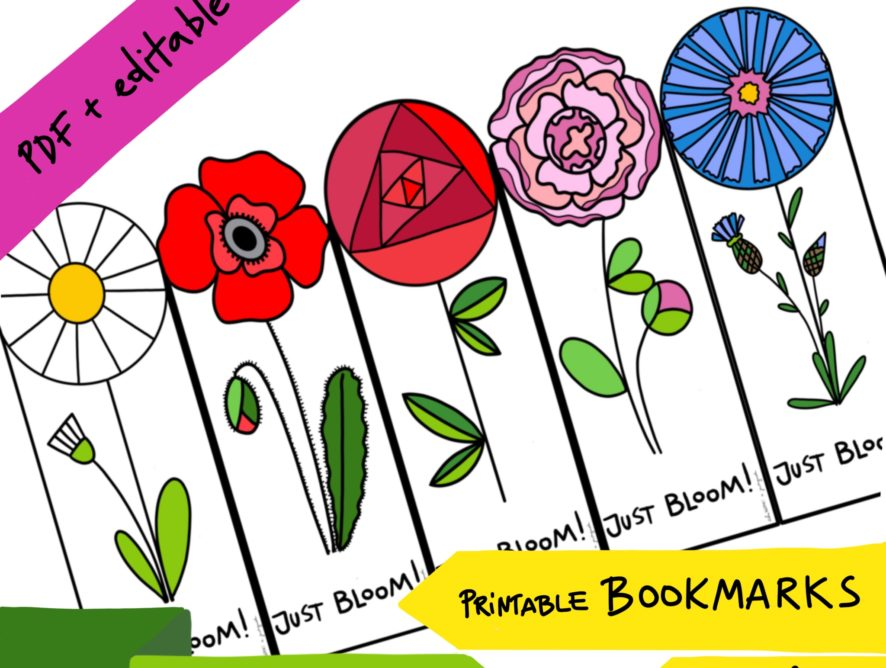 Bookmark FLOWERS #4