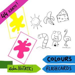 Flashcards kolory