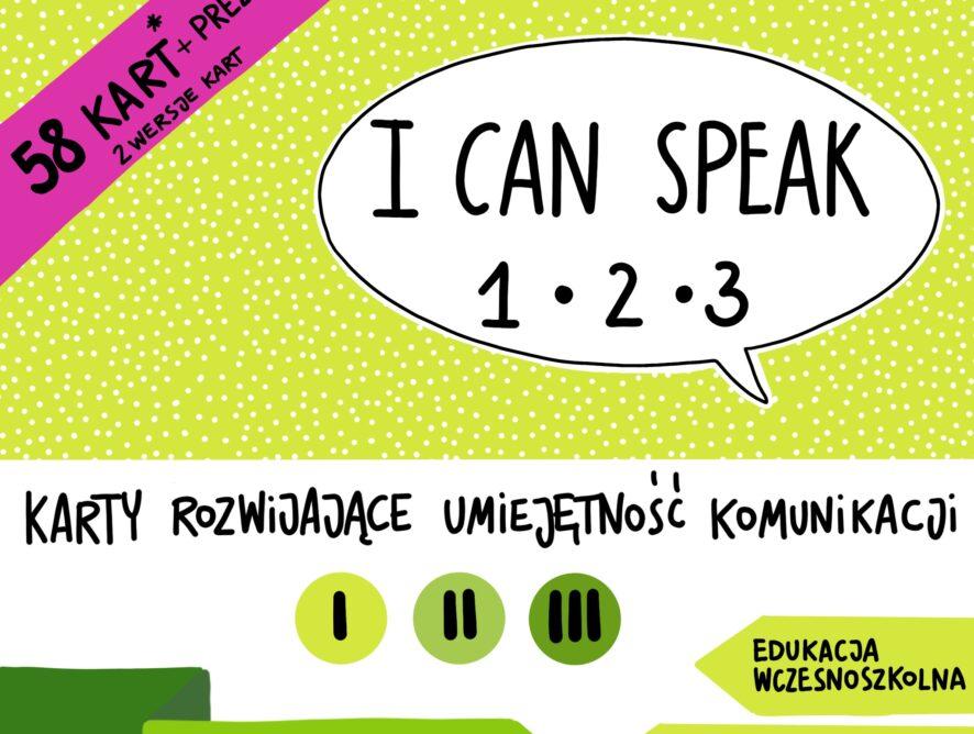 I CAN SPEAK 1-2-3 karty konwersacyjne
