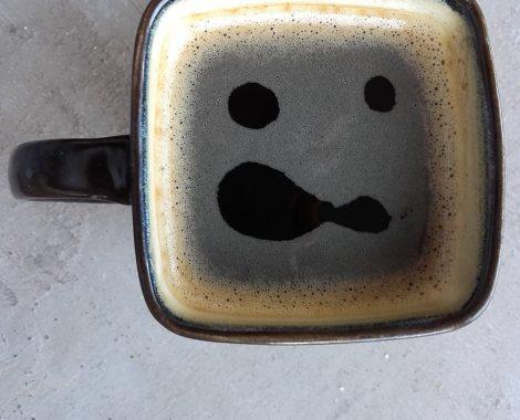 Nawet kawa przemawia do mnie rysunkowo